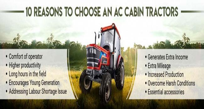 10 Alasan Memilih Traktor Kabin AC